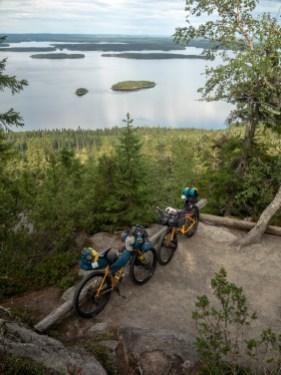 Typical Finnish Landscape. Koli National Park, Finland