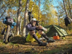 Camp. Nissonjokk, Abisko NP, Sweden