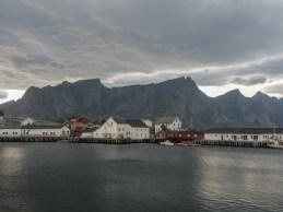 Fishermen villages. Lofotens, Norway