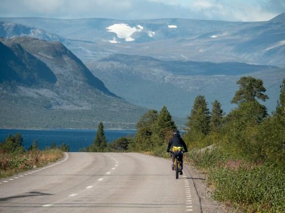 Arriving to Abisko NP. Abisko, Sweden