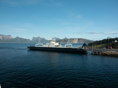 Ferry time. Bognes, Norway