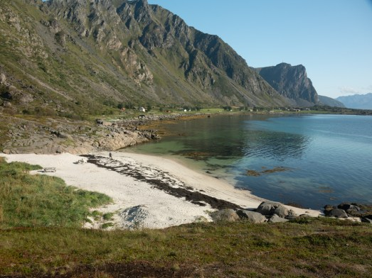 One of many beautiful beaches. Hadsel, Norway