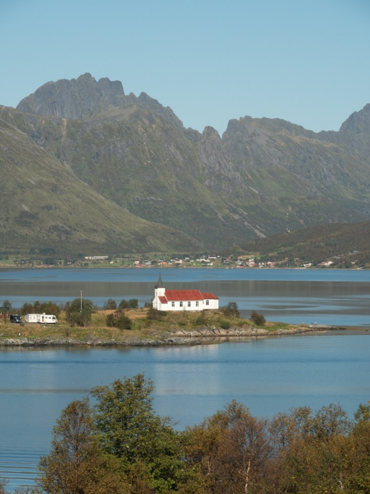 Kostelík. Vågan, Norsko