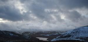 Snowy Elan Valley