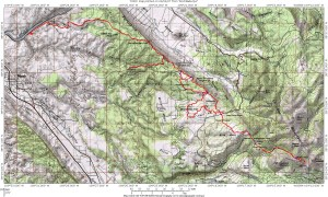 The Whole Enchilada map