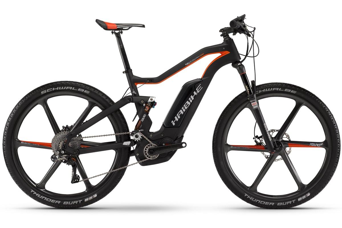 Haibike Elektro Fahrrad Xduro Bosch Nyon Fullseven Carbon