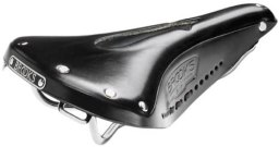 Product close-up of the Brooks Saddles Imperial B17 Mens Standard Bicycle Saddle with Hole and Laces