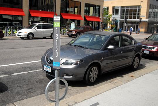 parking meter parking