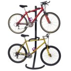 Racor PLB-2R Two-Bike Gravity Freestanding Bike Stand – One of the Highest Rated Freestanding Bike Stands on the Market