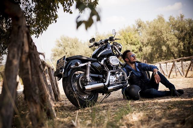 biker photo
