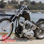 Custom Bike Greenade 1979 Harley Davidson Sportster Chopper Bike Review