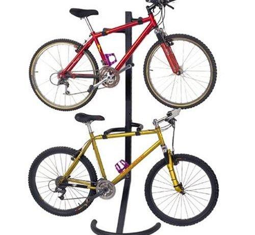 PLB-2R Two-Bike Gravity Freestanding Bike Stand