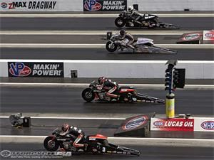 NHRA Four-Wide Nationals Charlotte 2014