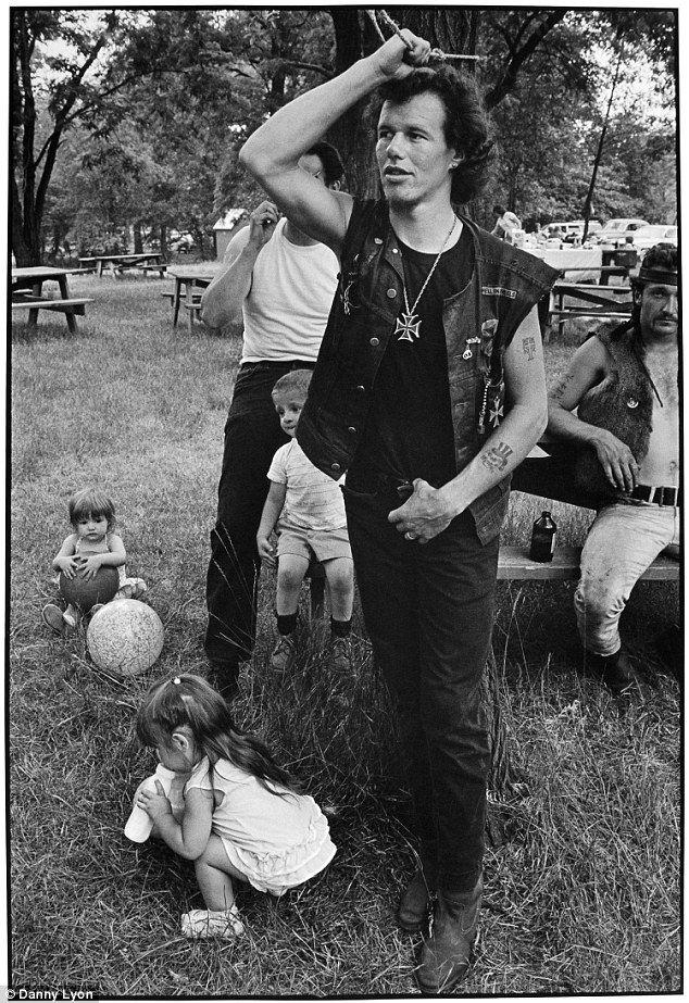 Cowboy at a 'Rogue's Picnic', South Chicago 1965