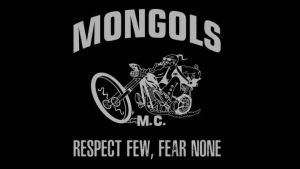 The Mongols, whose patch depicts Genghis Khan riding a motorcycle, are believed to have been involved in a gang shooting that left a Mongrel Mob-linked property riddled with bullet holes.