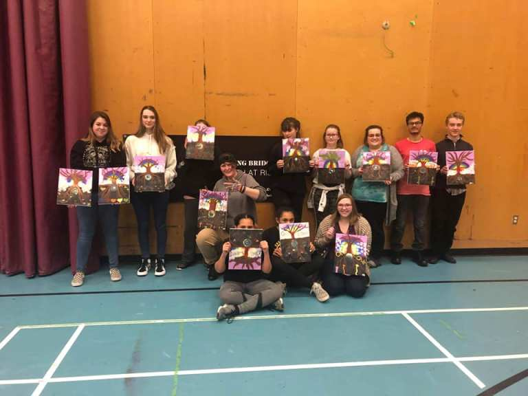 Youth Paint Night