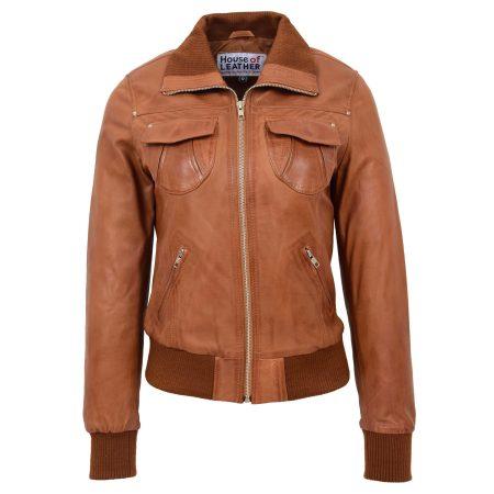 Women's Moto Classic Bomber Jacket