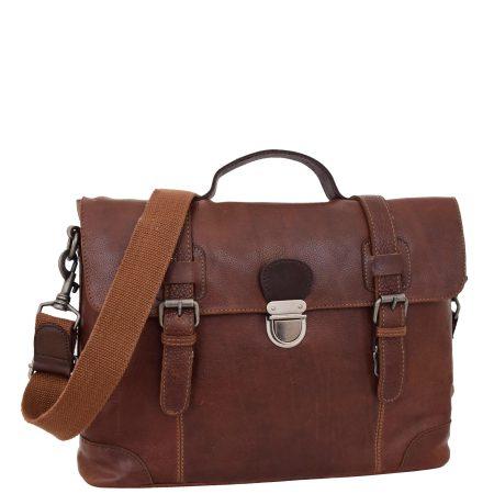 Men's Vintage Leather Briefcase