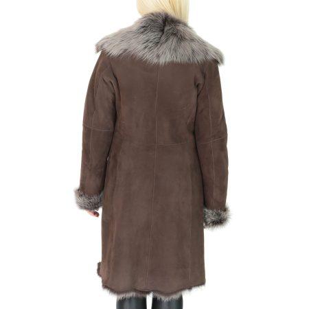 Women's 3/4 Length Toscana Shearling Coat