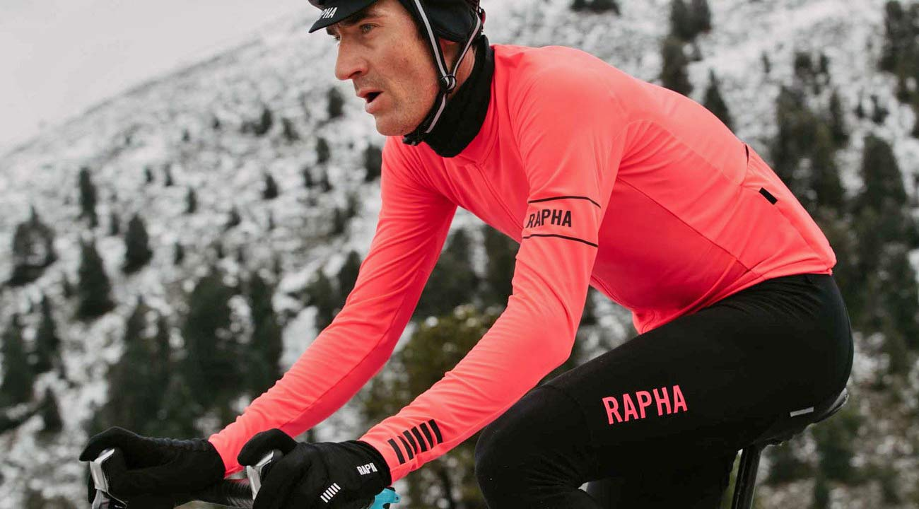 The new Pro Team Long Sleeve Thermal Jersey pairs with the bibs for a  race-cut 05a04a9ec