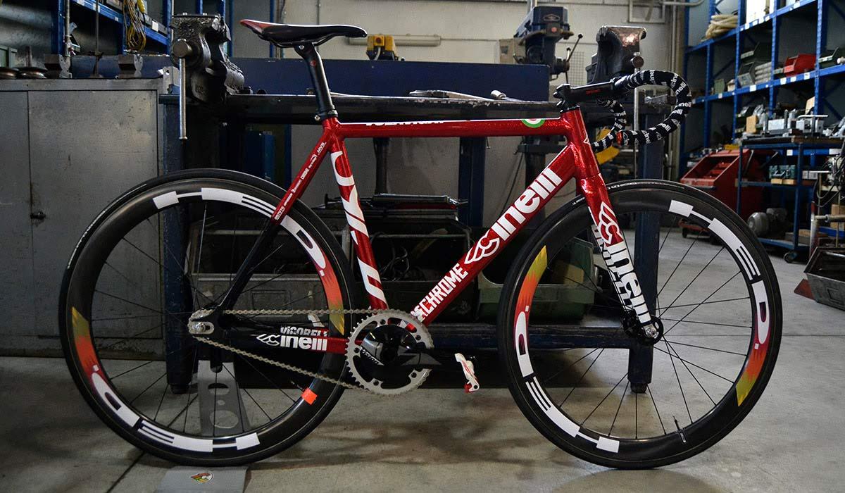 Cinelli Garage opens its doors to deeply custom dream bike builds ... 19f6ea67a