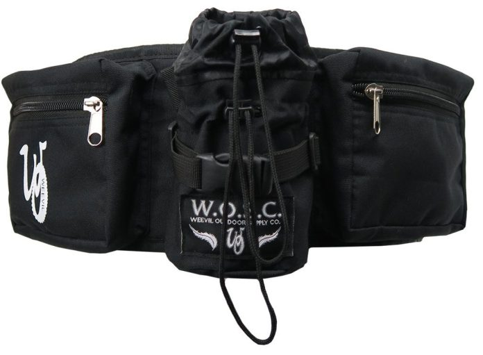 Weevil Outdoor Supply Co. packs the BurroSak w/ their take on hip packs