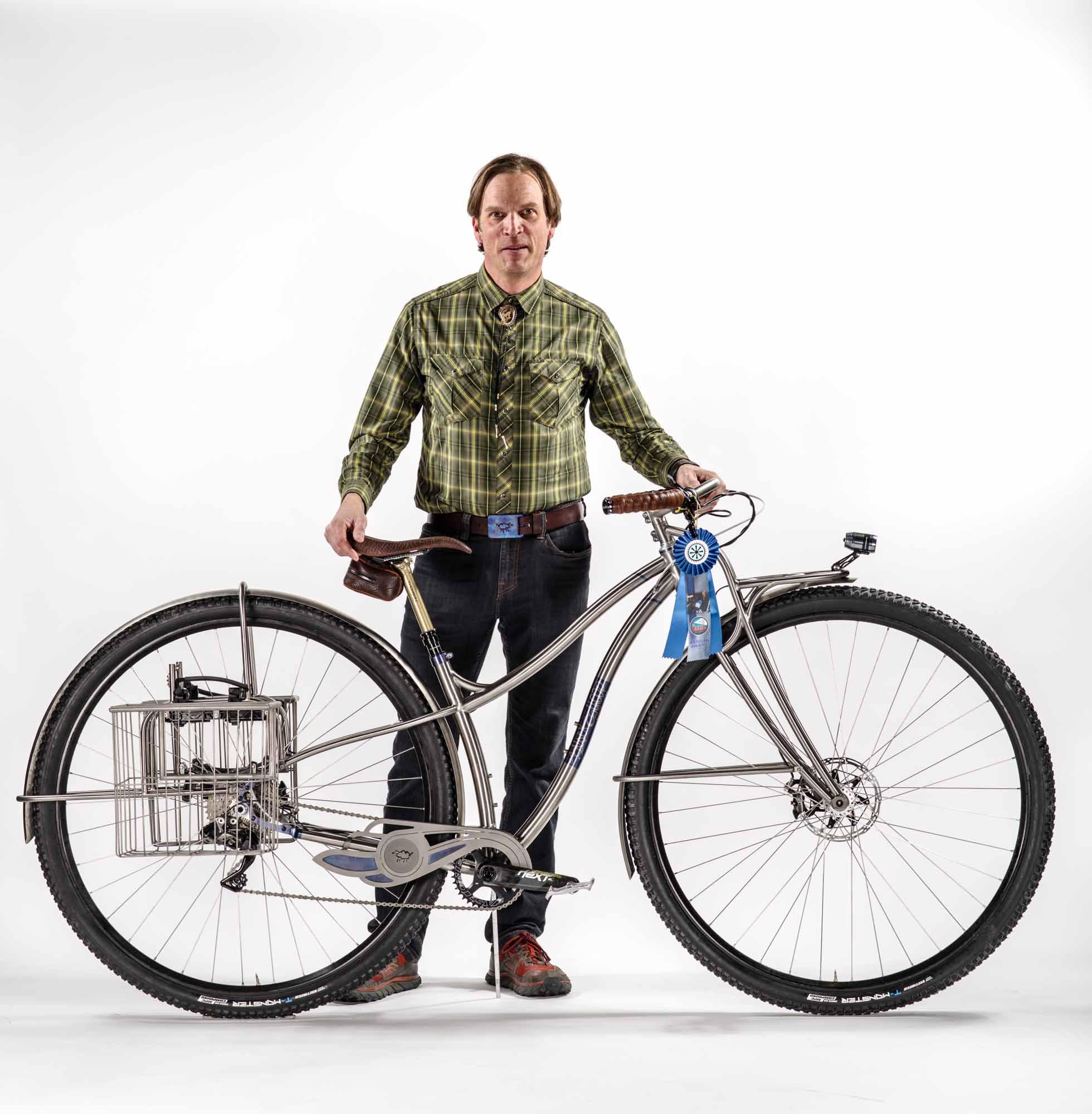 95428f642 Best Artisan Bike. NAHBS 2018 Winner Black Sheep