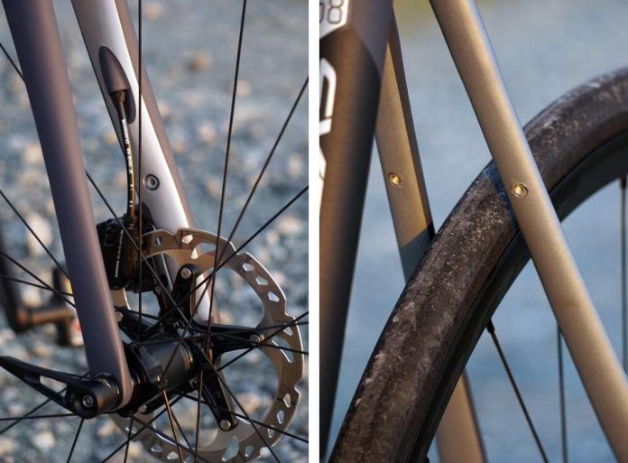 2018 Cannondale Synapse Carbon Disc brake endurance road bike with hidden fender eyelet mounts
