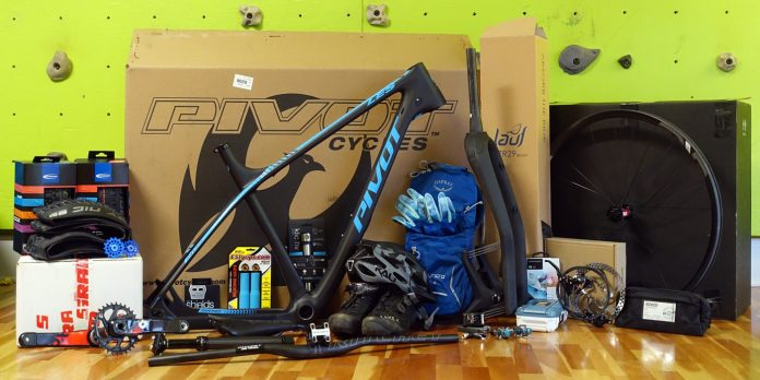 Project XC race bike - pivot LES with complete parts list to build a lightweight hardtail race mountain bike for NUE endurance events