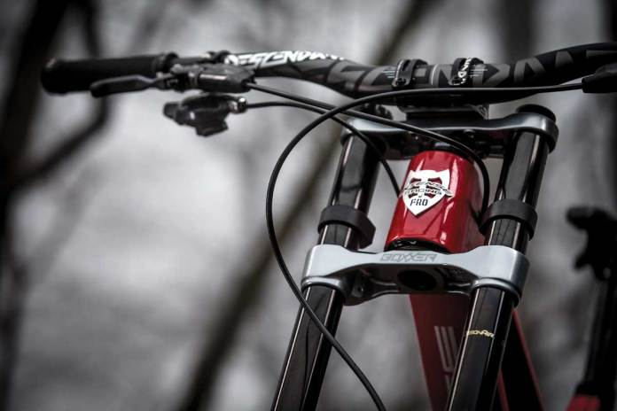 2018 Rockshox Boxxer World Cup and RC dual crown mountain bike suspension fork