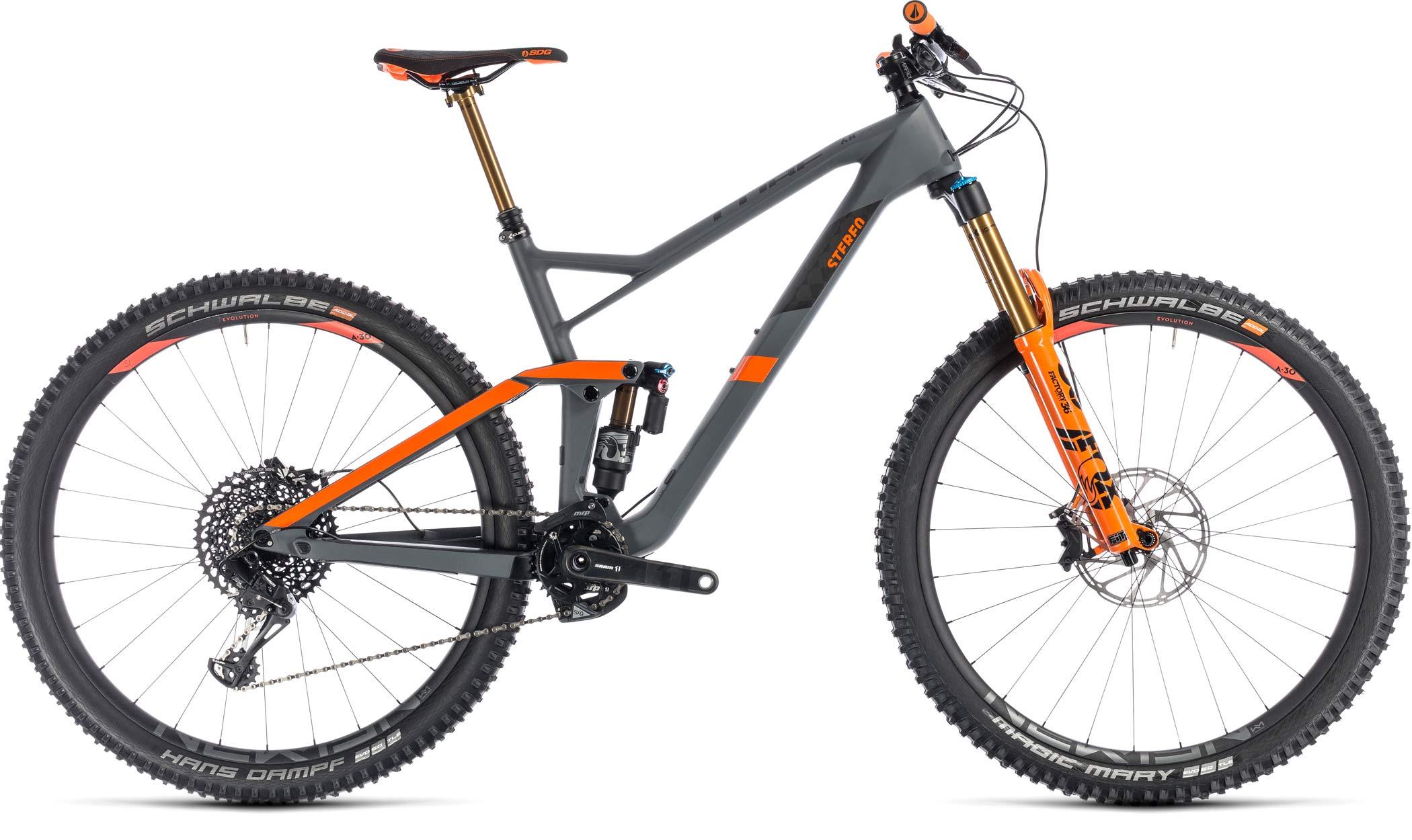 Cube Stereo 150 29 Race Ready Carbon Enduro Mountain Bike