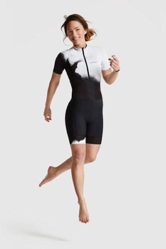Peppermint clothing 2018, short sleeve skinsuit