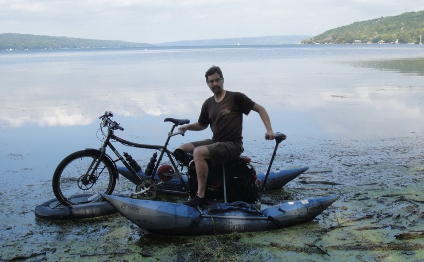 Aqua-Xtracycle, the Amphibious Bicycle