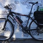 """I bought this high-end mountain bike (code-named """"Black Beauty"""") used for $400 with the intention of building it up as a replacement for my Big Dummy. So far I've added a hub motor and perhaps I'll add an Xtracycle longtail extension in the spring."""