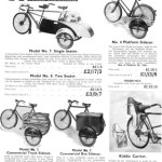 Sidecars for various trades. Photo from http://oldbike.eu.