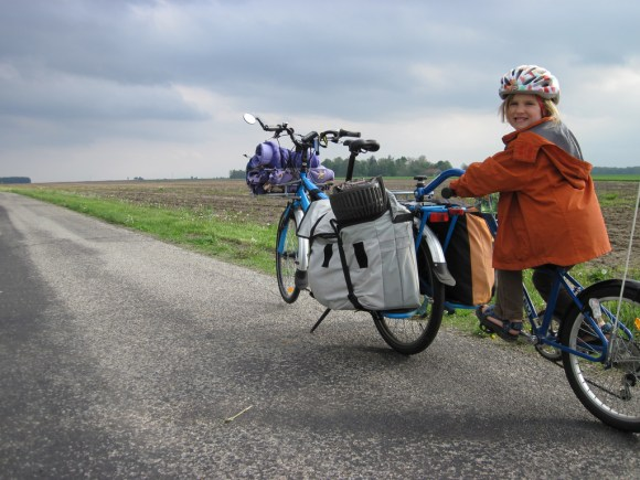 On our way to cargo bike camp