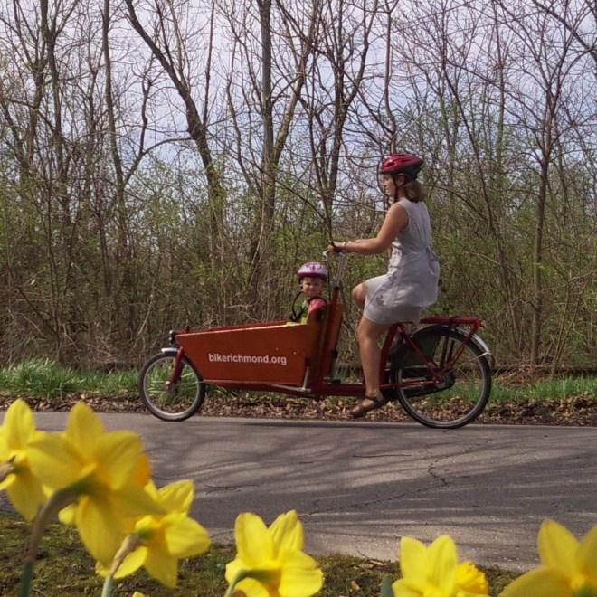 easter bike ride, 2010