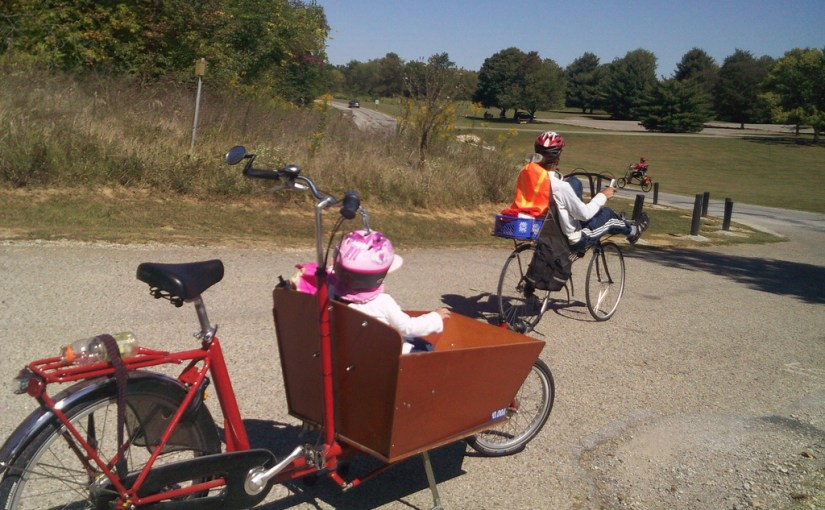 Reflections on box bike touring