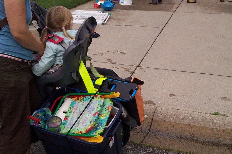 20 miles of errands with an electric cargo bike