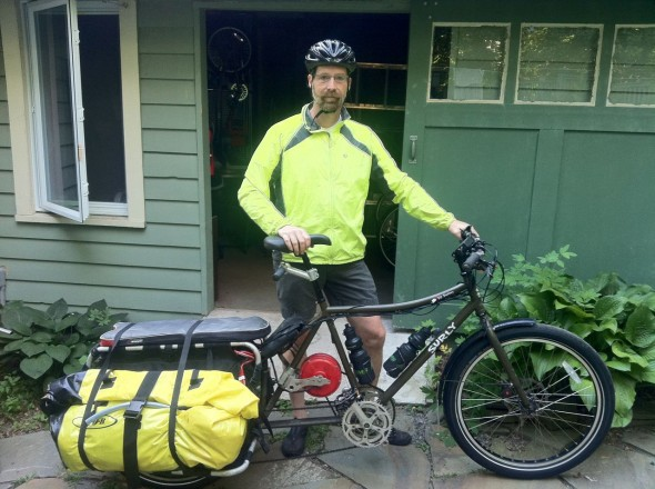 Long Distance Trip On My Ebike Workhorse Bikes As