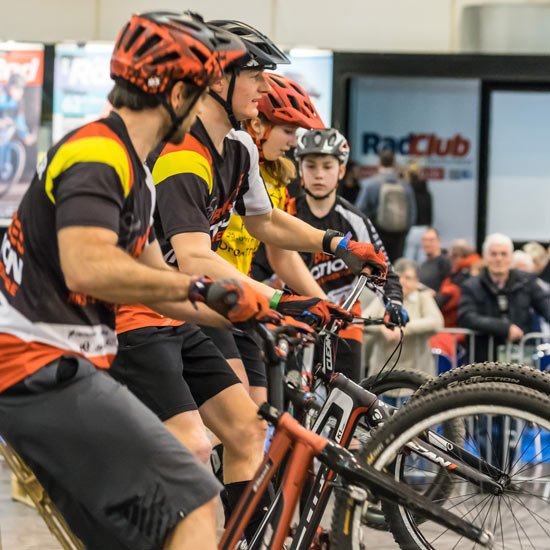Shows und Workshops auf der Fahrrad Messe Essen