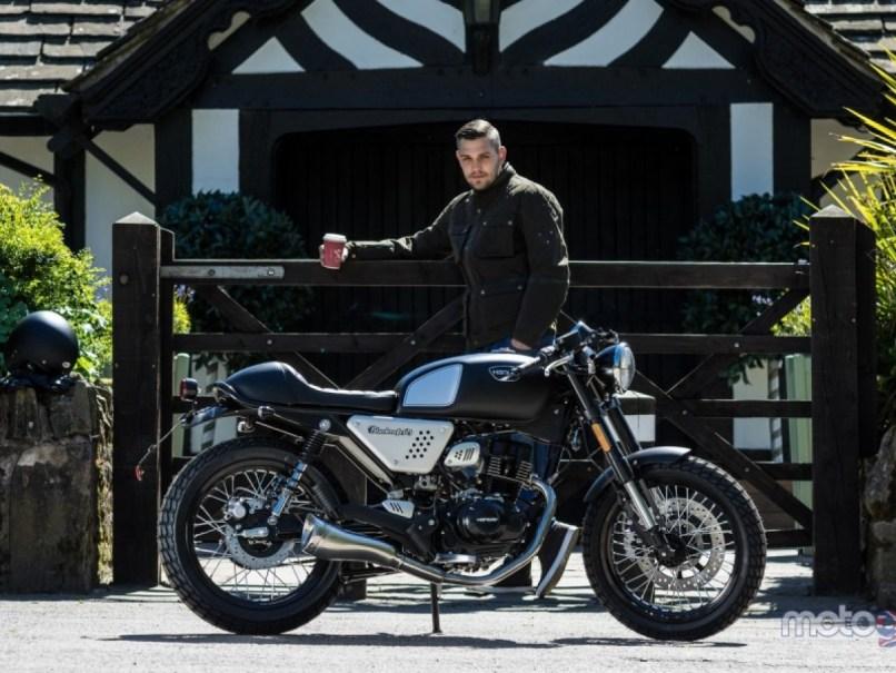 For Hanway Black Cafe Racer 125cc