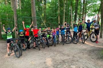 Jugend und Kids Bike Training
