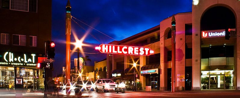 Hillcrest, San Diego Sign
