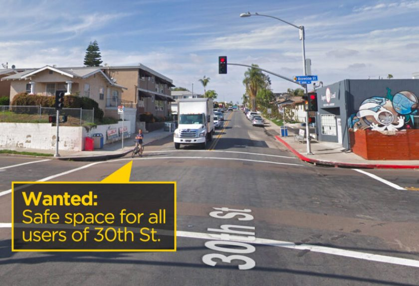 Wanted: safe space on 30th St for all users