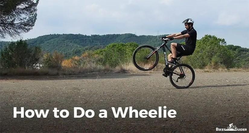How to Do a Wheelie on a Bike