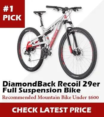 Best Mountain Bikes Under 600 Dollars