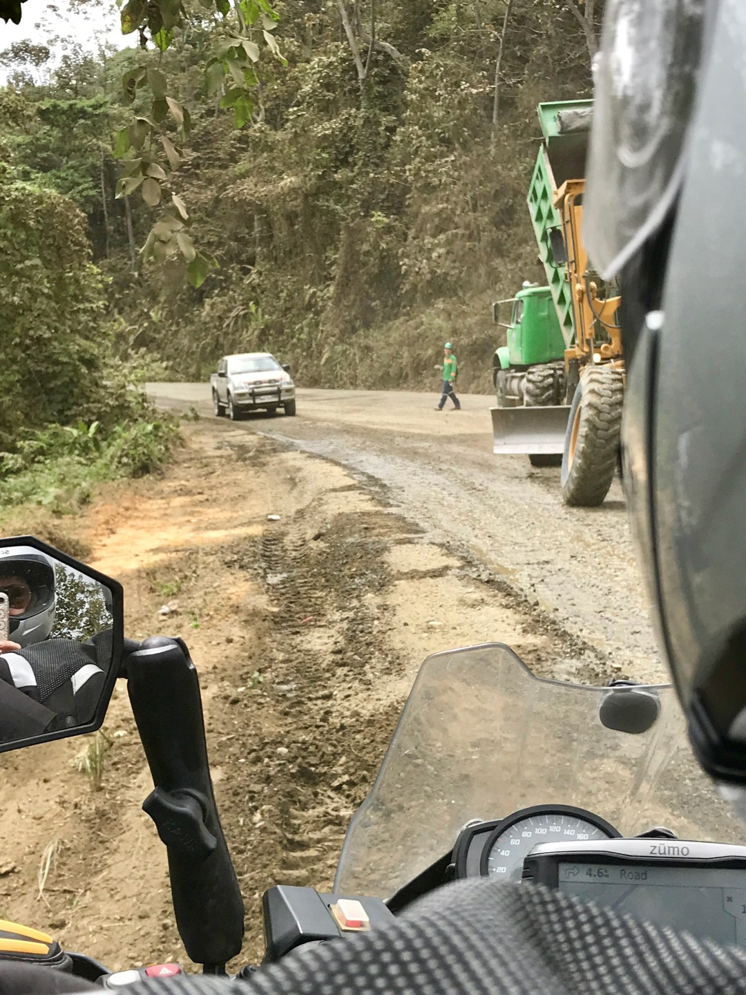 Road works, Ecuador