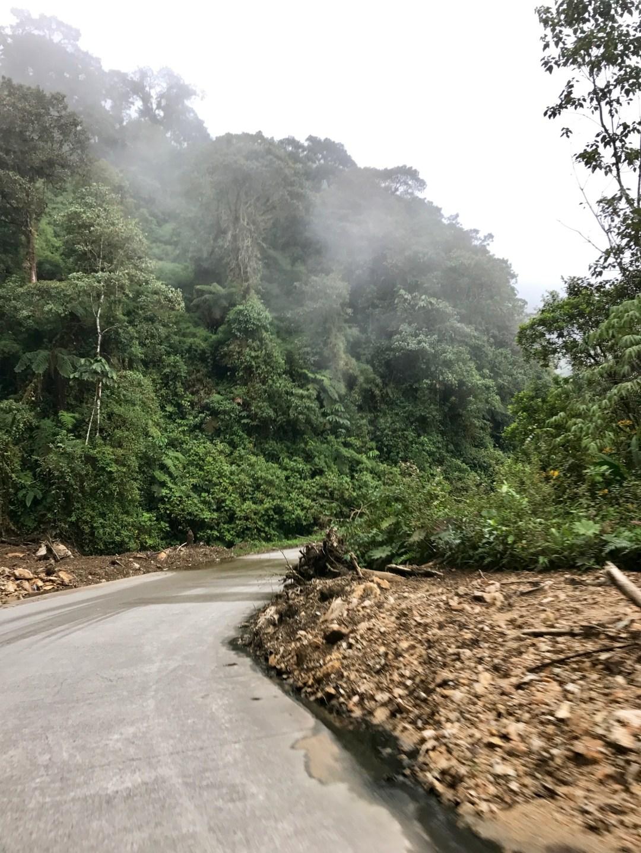 Ecuador road conditions