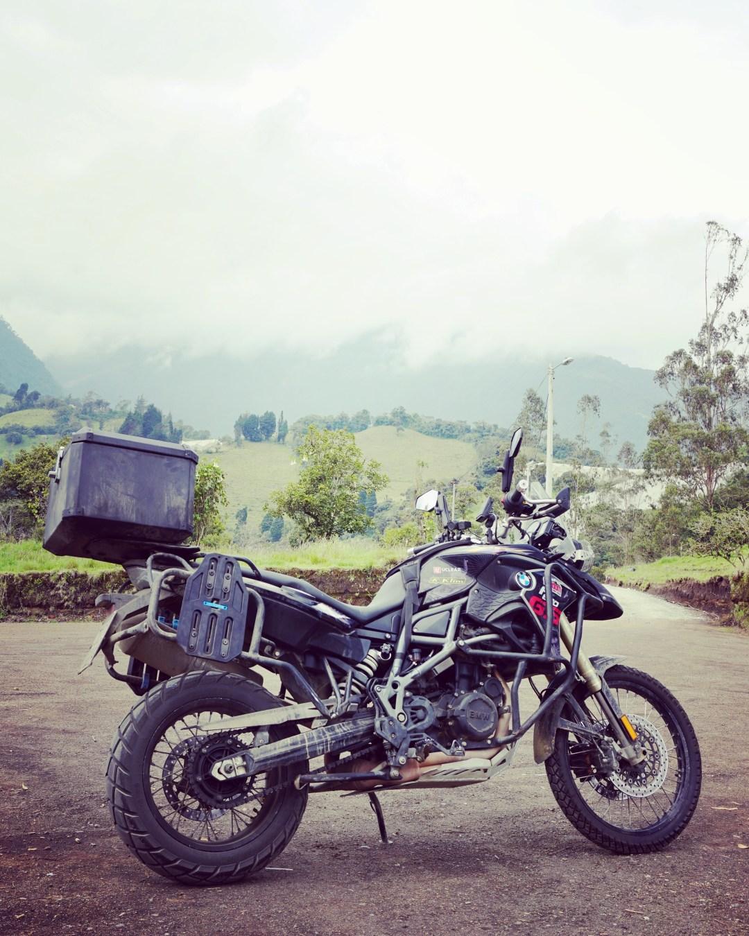 Motorcycle touring, Ecuador